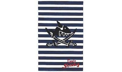 Capt`n Sharky Kinderteppich »SH-2361-01«, rechteckig, 10 mm Höhe, handgearbeiteter... kaufen