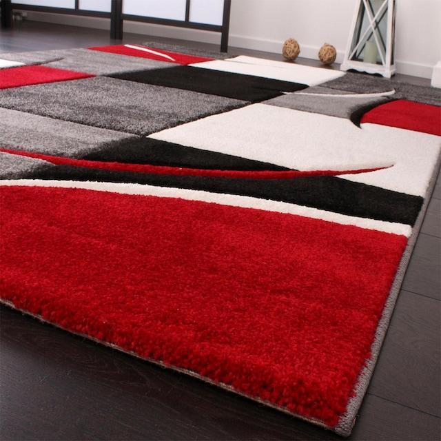 Teppich, »Diamond 665«, Paco Home, rechteckig, Höhe 18 mm, maschinell gewebt