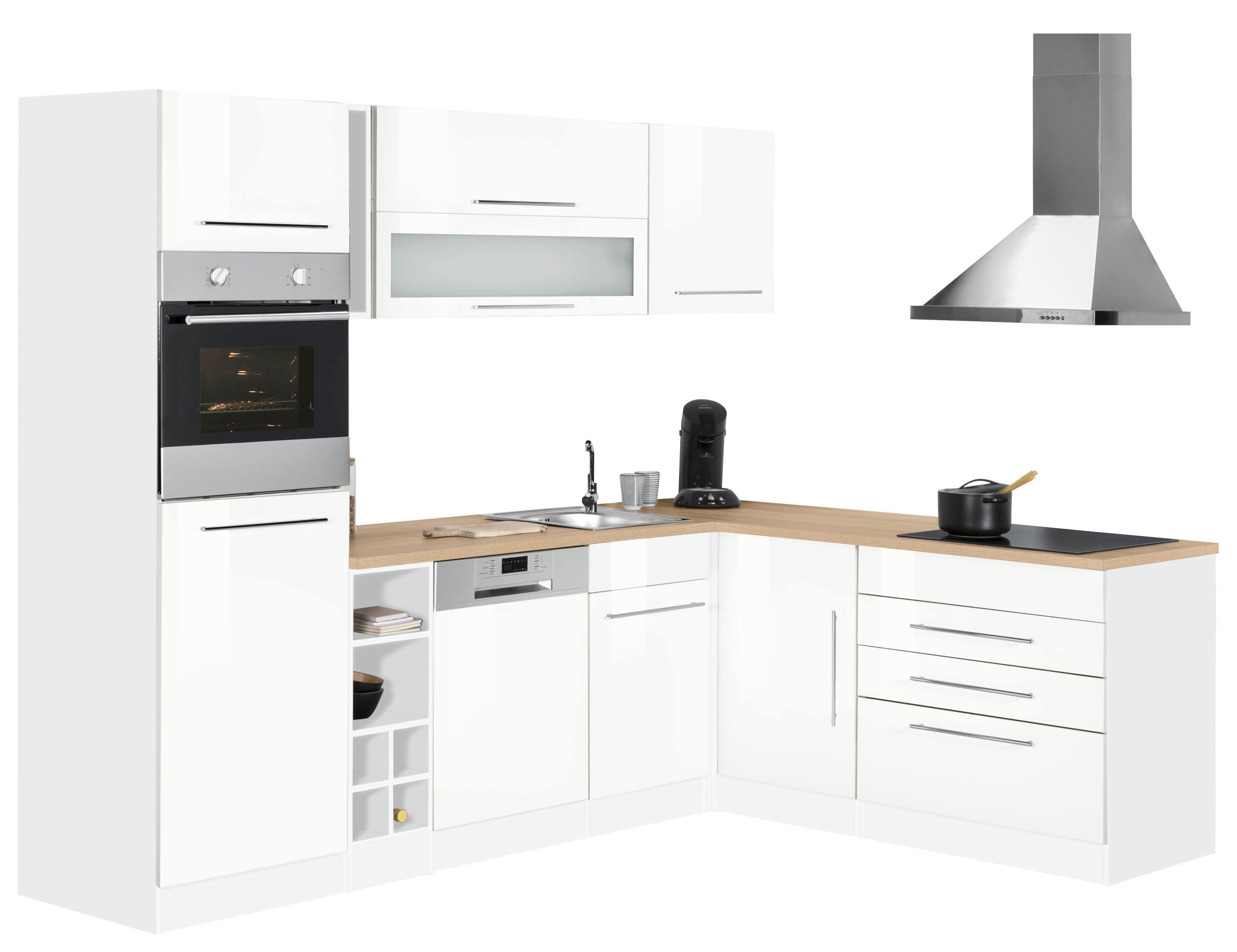 HELD MÖBEL Winkelküche Eton mit E-Geräten Stellbreite 260 x 190 cm