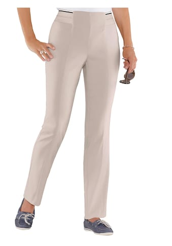 Classic Basics Stretch - Hose in glatter Bengalin - Qualität kaufen