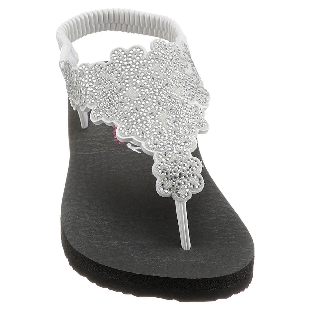 Skechers Sandale, in funkelnder Optik