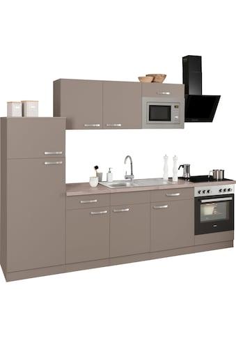 wiho Küchen Küchenzeile »Kansas« kaufen