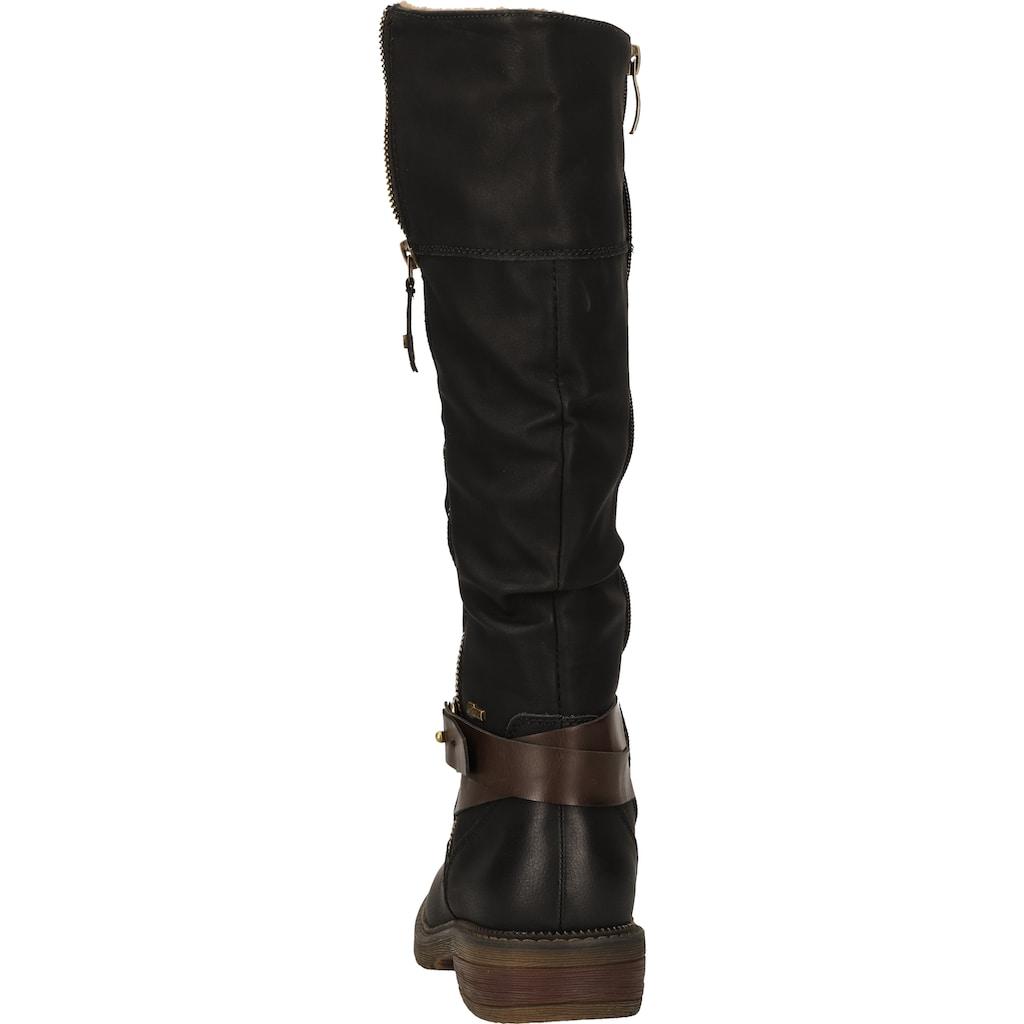 Relife Stiefel »Lederimitat«