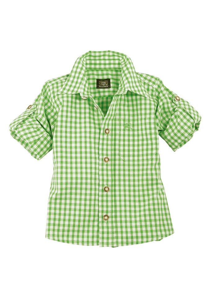 Trachten Kinderhemd kariert, OS-Trachten