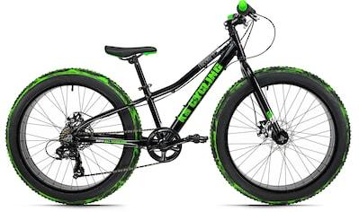 KS Cycling Fatbike »Crusher 6217«, 7 Gang Shimano Tourney Schaltwerk, Kettenschaltung kaufen