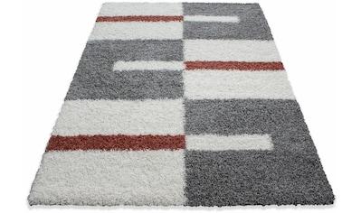 Ayyildiz Hochflor-Teppich »Gala Shaggy 2505«, rechteckig, 30 mm Höhe, Wohnzimmer kaufen