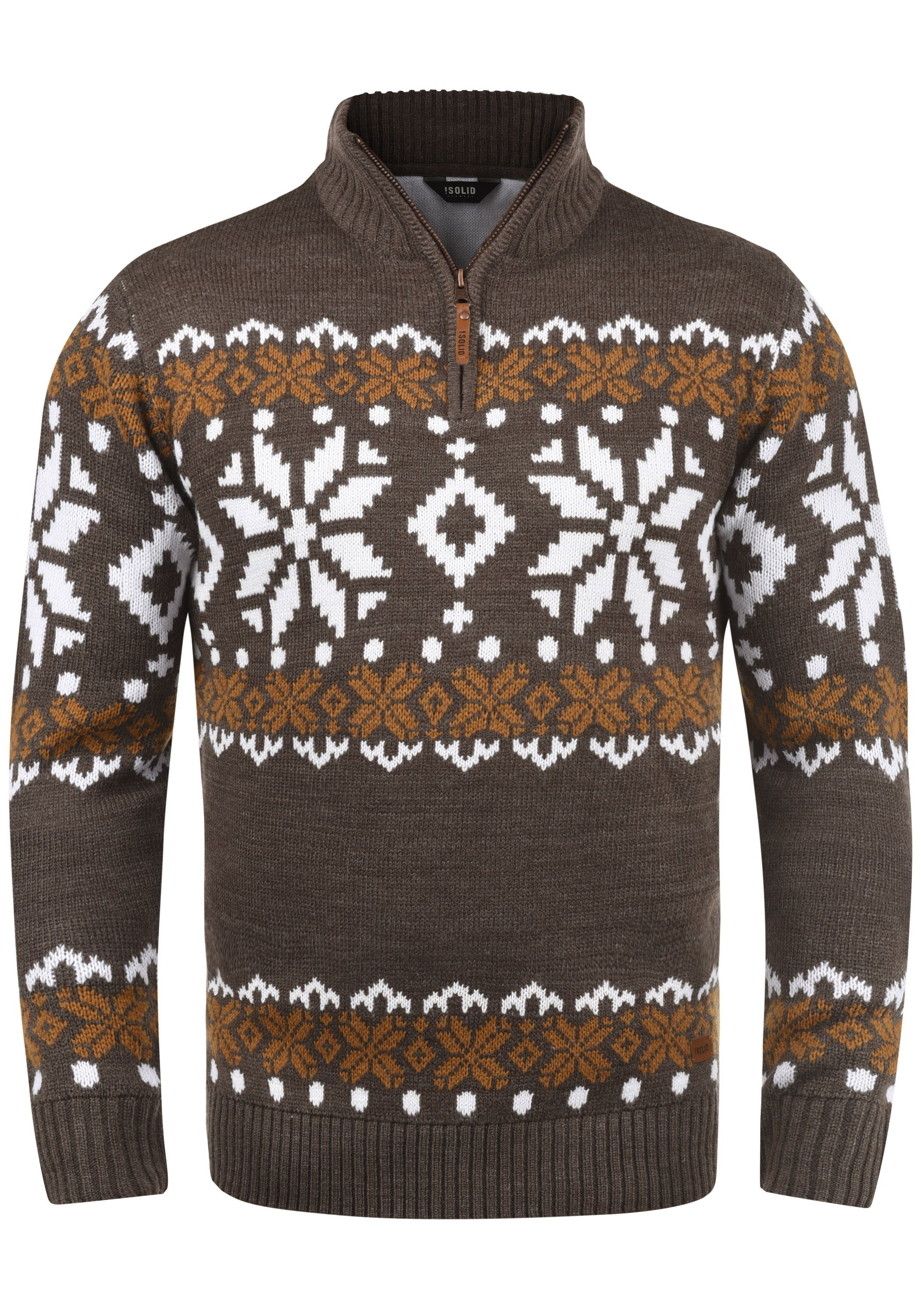 Solid Troyer Norwin | Bekleidung > Pullover > Troyer | Solid