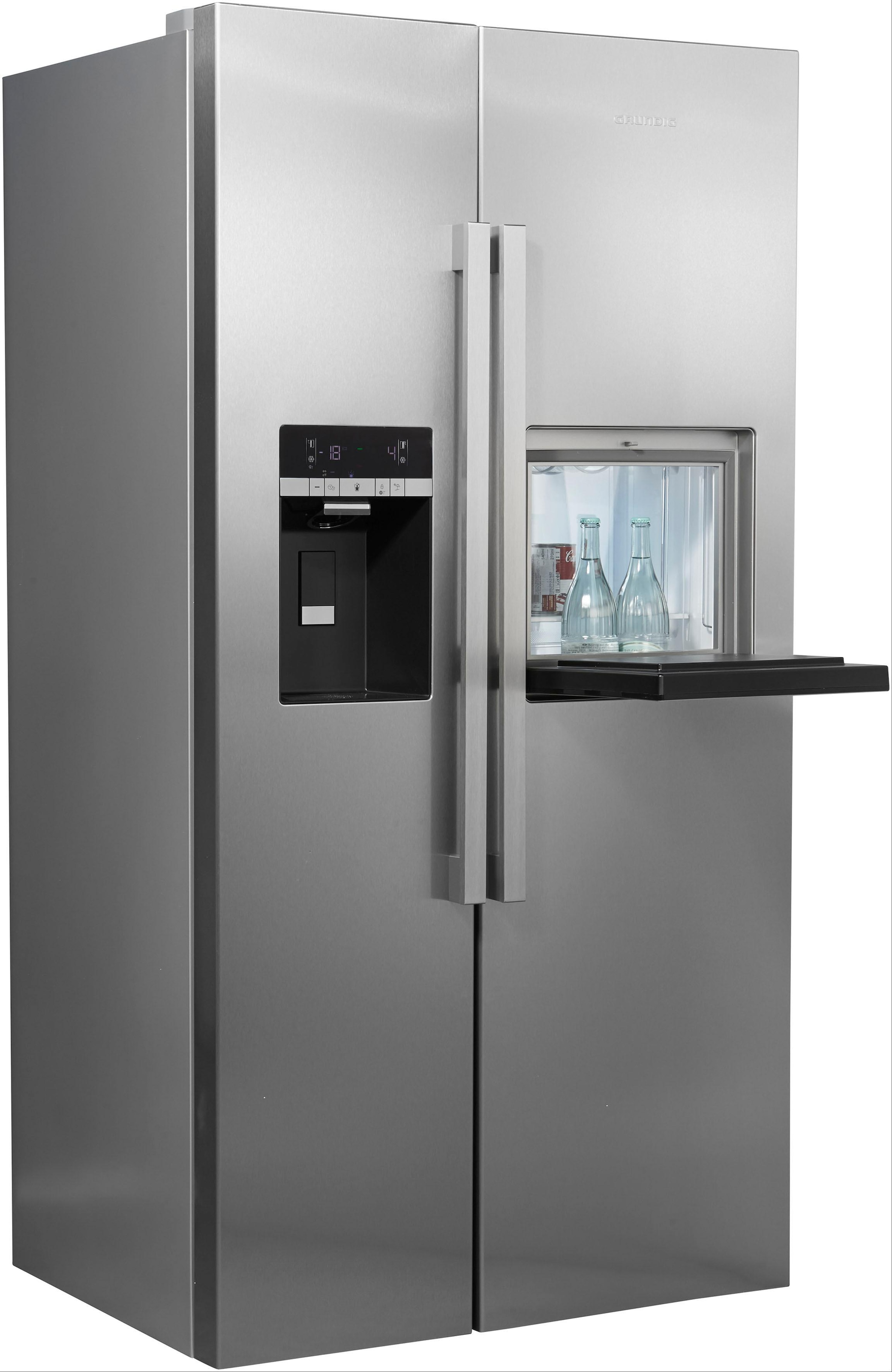 Grundig Kühlschrank Side By Side : Grundig side by side cm hoch cm breit per rechnung baur