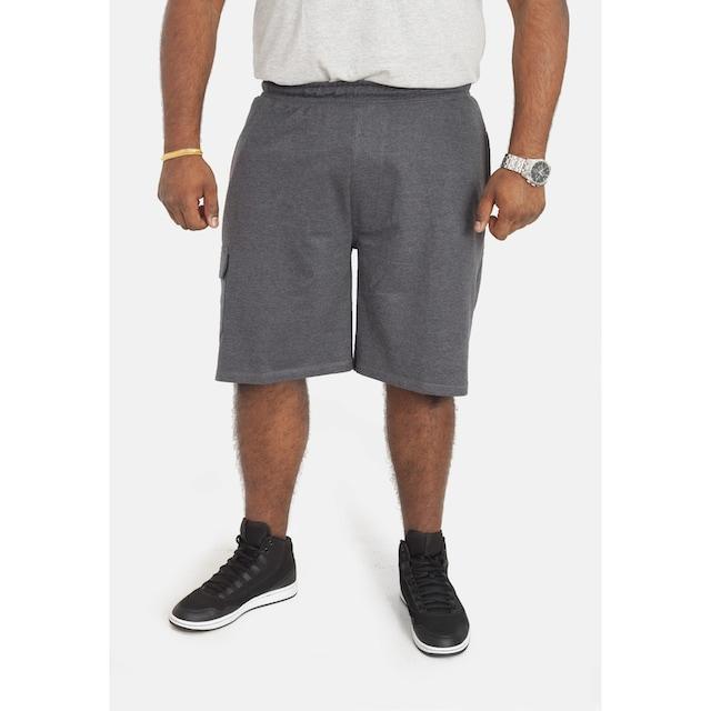 Duke Clothing Cargoshorts »Herren D555 John Kingsize Leichte Cargo Shorts Baumwolle«