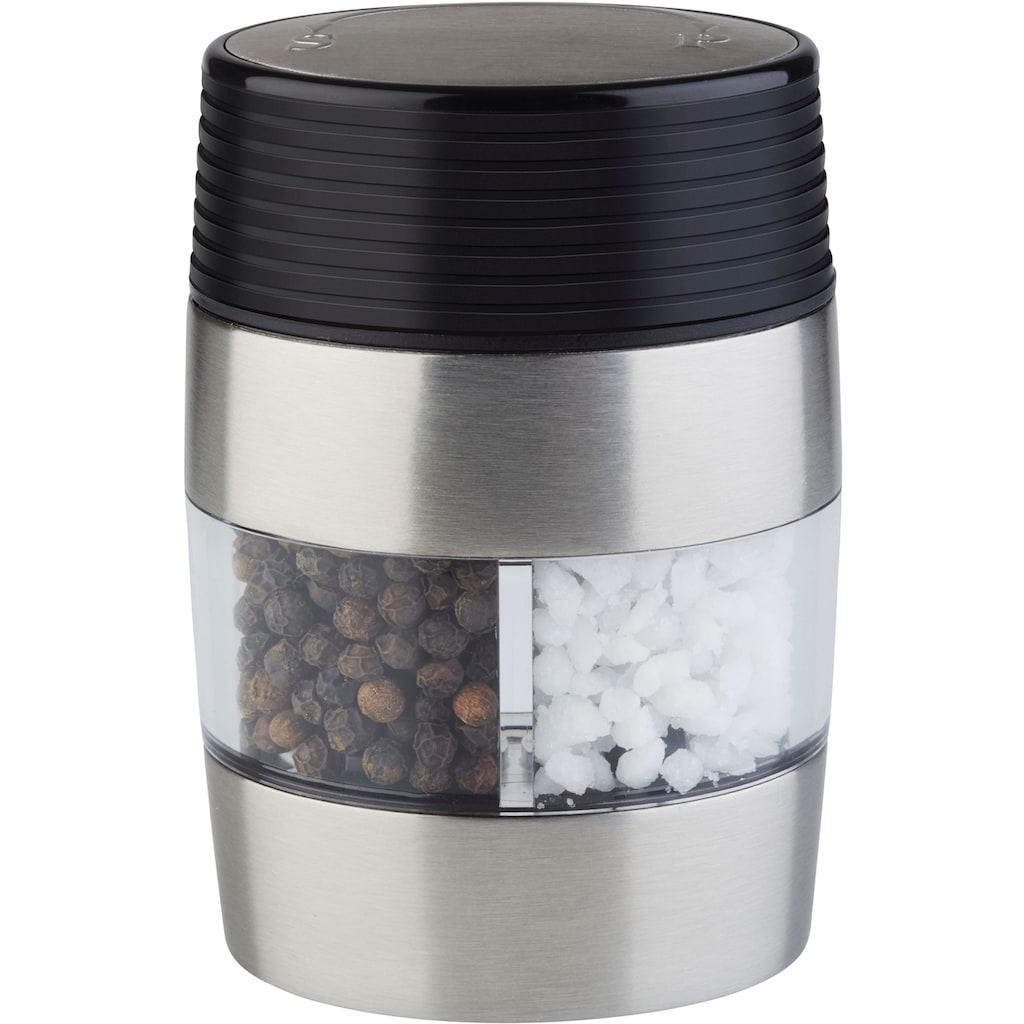 APS Salz-/Pfeffermühle, (1 St.), Edelstahl, hochwertiges Keramikmahlwerk