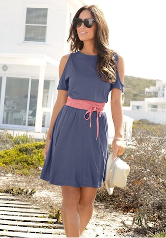 LASCANA Jerseykleid, mit Cut-outs am Ärmel kaufen