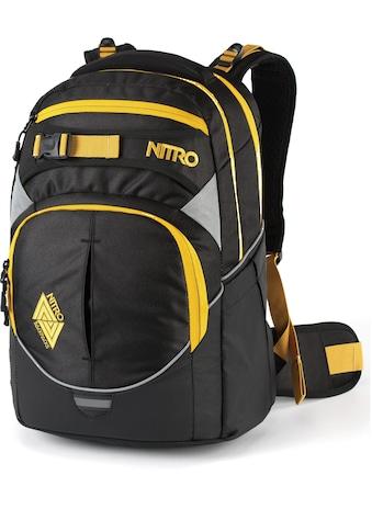NITRO Schulrucksack »Superhero Golden Black« kaufen