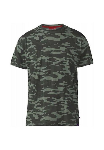 Duke Clothing T - Shirt »Herren Gaston D555 mit Tarnmuster« kaufen
