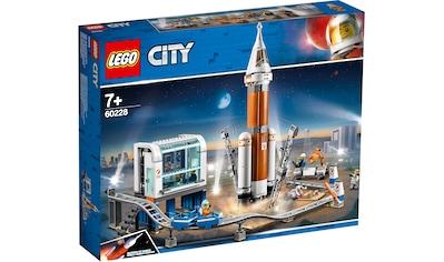 """LEGO® Konstruktionsspielsteine """"Weltraumrakete mit Kontrollzentrum (60228), LEGO® City Space Port"""", Kunststoff, (837 - tlg.) kaufen"""