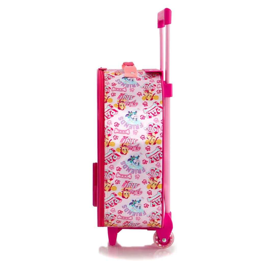 Heys Kinderkoffer »Paw Patrol Softside, 48 cm, rosa«, 2 Rollen