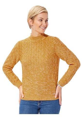 Casual Looks Pullover im lässigen Mustermix allover kaufen
