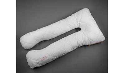 MPS TEXTILES Seitenschläferkissen »The pregnancy pillow«, Füllung: Polyesterfaser,... kaufen