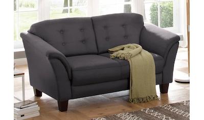 Home affaire 2-Sitzer »Lillesand«, mit Federkern, Knopfheftung im Rücken, Füße Buche kaufen