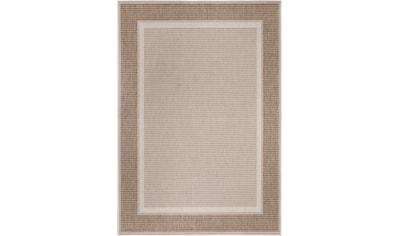 Andiamo Teppich »ARIZONA 2«, rechteckig, 5 mm Höhe, Flachgewebe, mit Bordüre, In- und Outdoor geeignet, Wohnzimmer kaufen