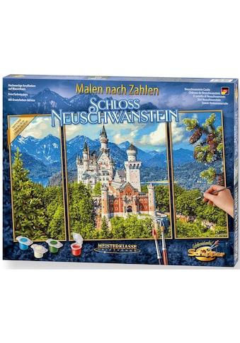 Schipper Malen nach Zahlen »Meisterklasse Triptychon - Schloss Neuschwanstein«, Made in Germany kaufen