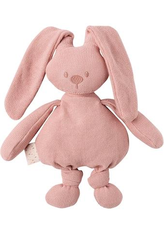 "Nattou Kuscheltier ""lapidou cuddly cotton Hase, rosa"" kaufen"