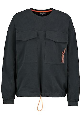 Stitch & Soul Sweatshirt, mit aufgesetzten Taschen kaufen