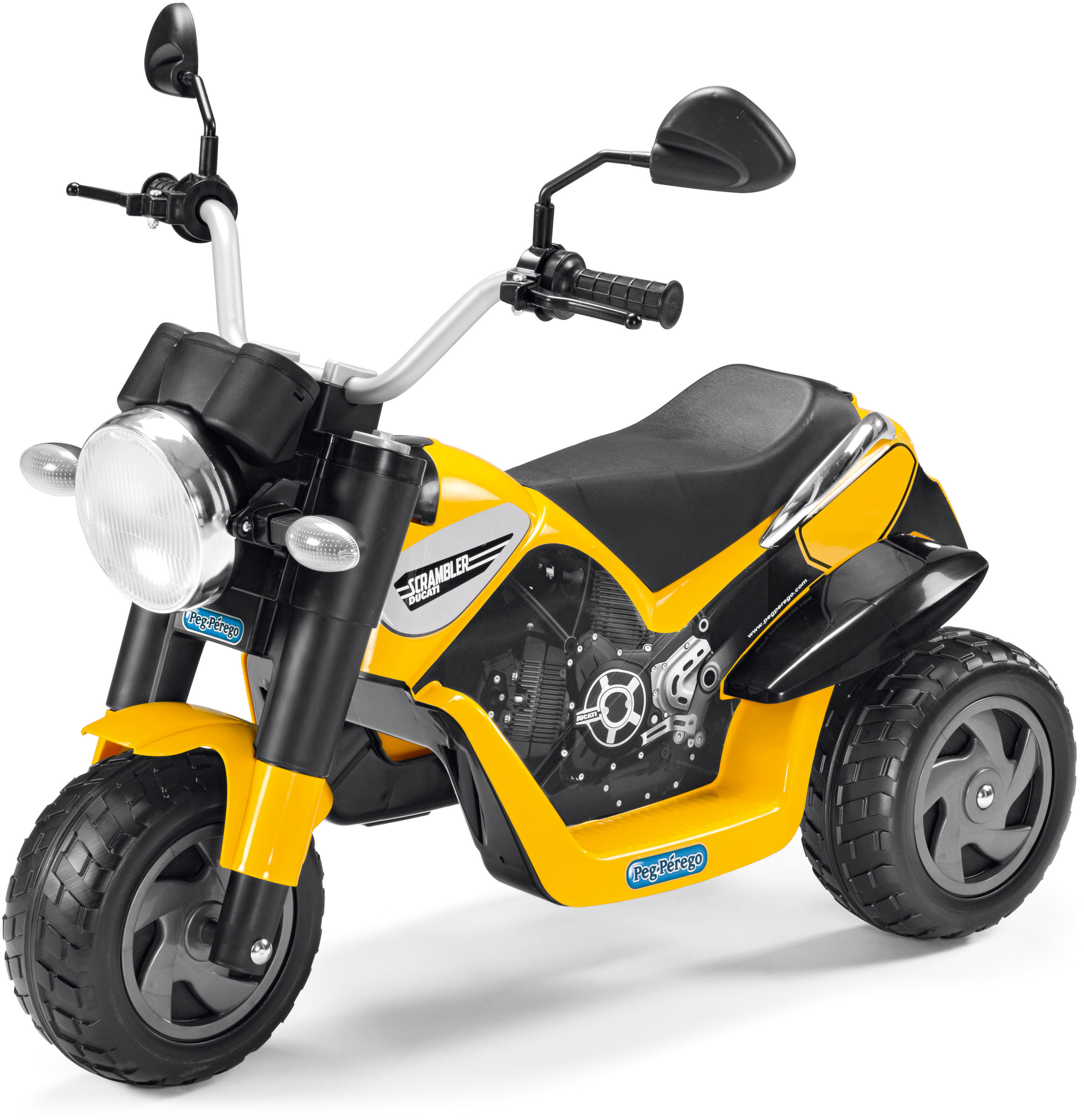 Peg-Pérego Elektrofahrzeug Dreirad, »Ducati Scr...
