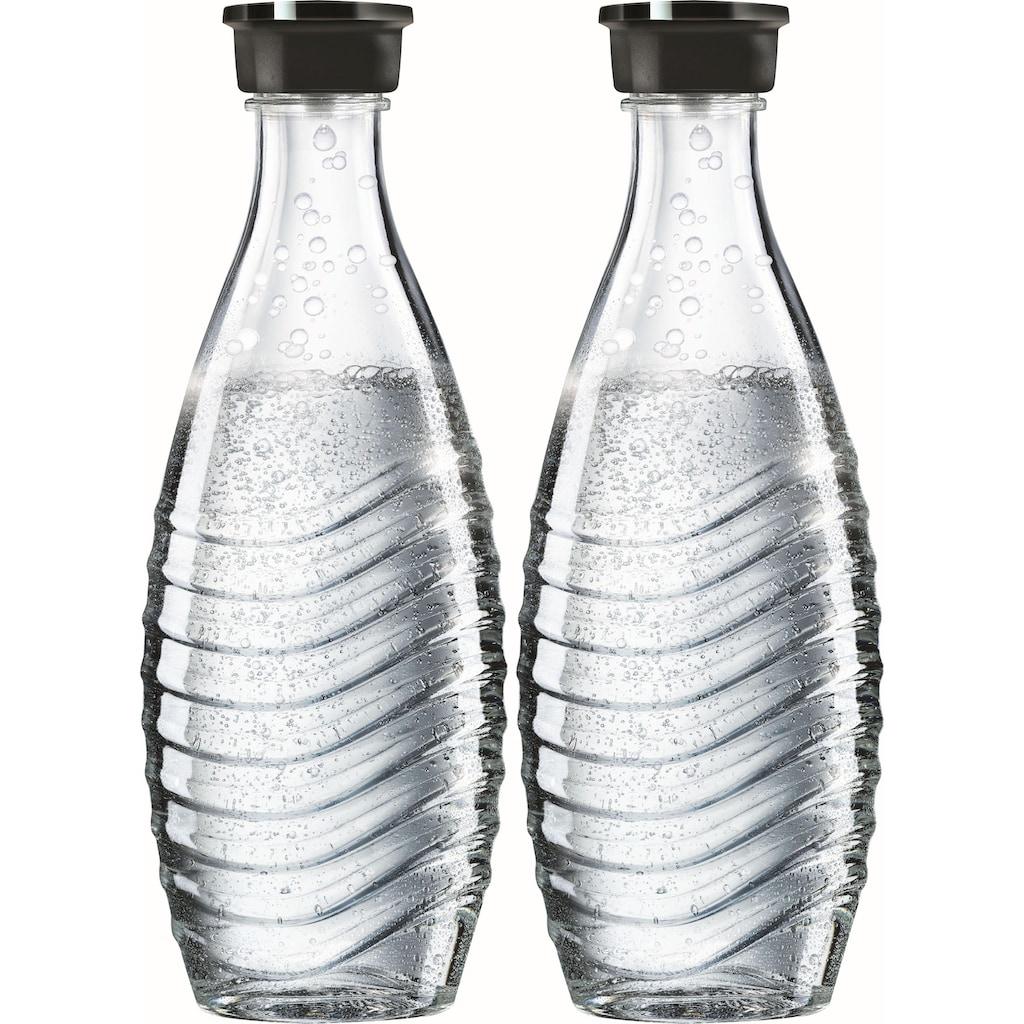 SodaStream Wasserkaraffe, (Set, 2 tlg.), passend für die SodaStream Modelle Crystal und Penguin