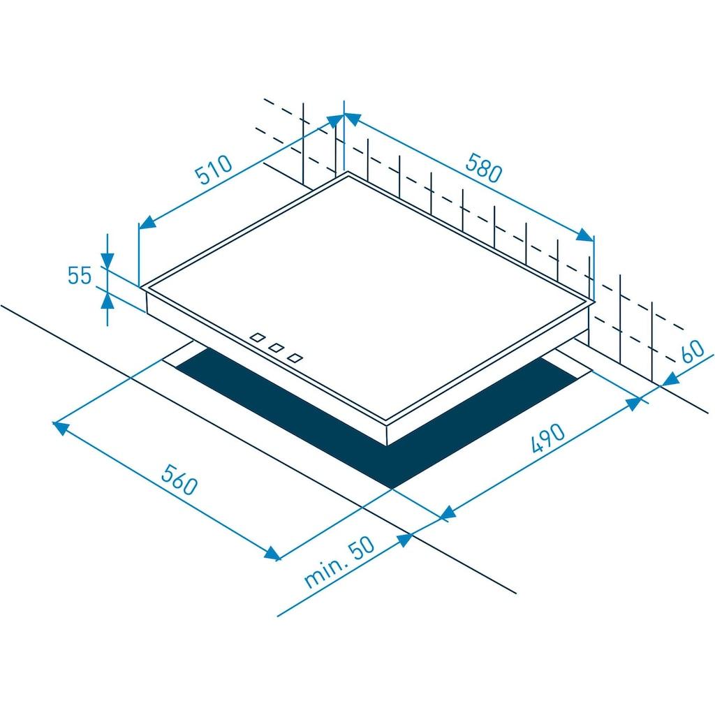 Grundig Elektro-Kochfeld von SCHOTT CERAN®, GIEV 624430 X, mit Memory-Funktion