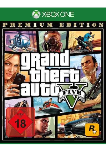 GTA V  -  Grand Theft Auto V Premium Edition Xbox One kaufen