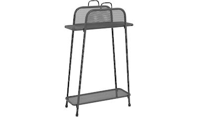 GARDEN PLEASURE Regal »Shelfo«, Metall, 65,5x27x105,5 cm, schwarz kaufen