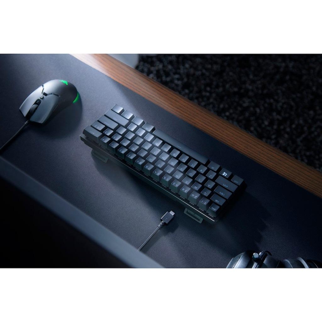 RAZER Gaming-Tastatur »Huntsman Mini - Klickend optischer Switch (Rot) - DE - Schwarz«, (Funktionstasten)