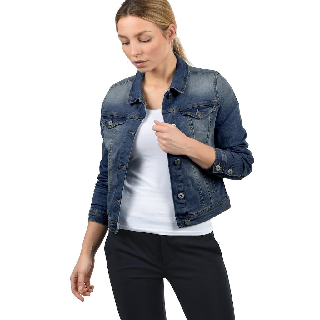Blendshe Jeansjacke »Jeanie«, Übergangsjacke mit zwei Eingriffstaschen