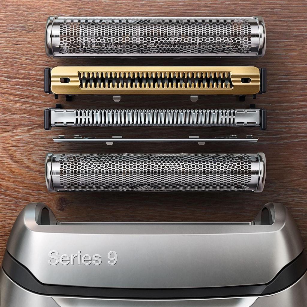 Braun Elektrorasierer »Series 9 9345s«, SmartClick-Präzisionstrimmer, mit Ladestation