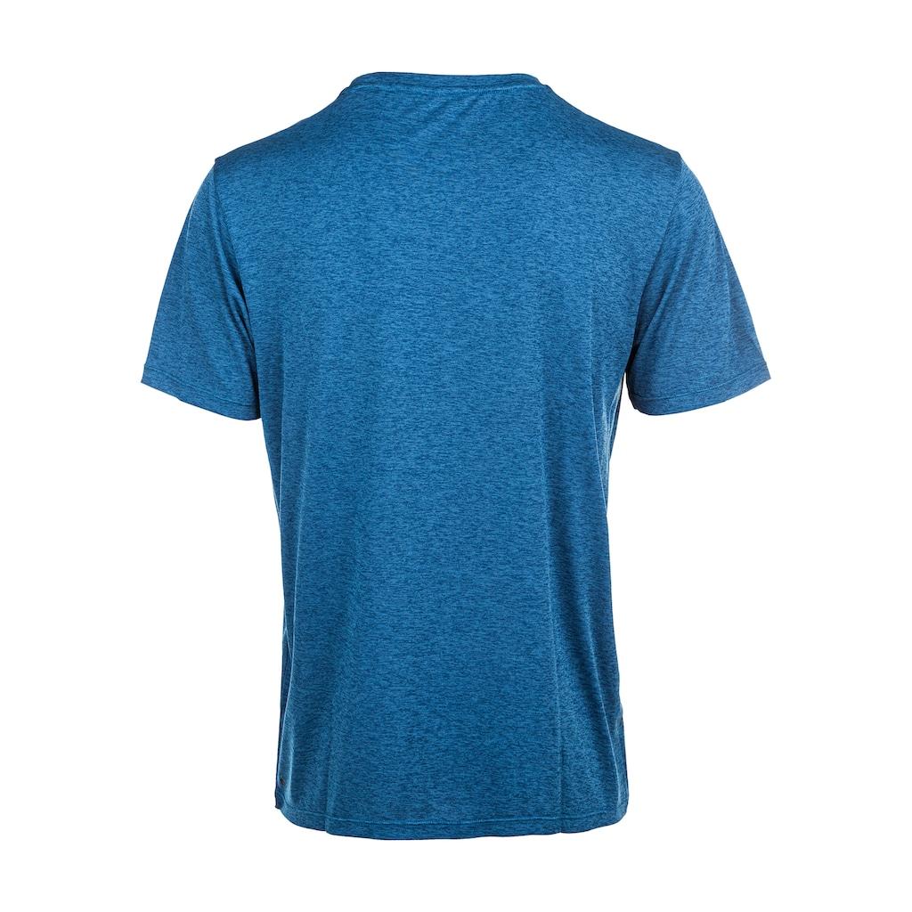 Virtus T-Shirt »SUKER MELANGE«, mit coolem Frontprint