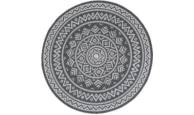 Teppich, »Ios«, Andiamo, rund, Höhe 5 mm, maschinell gewebt kaufen
