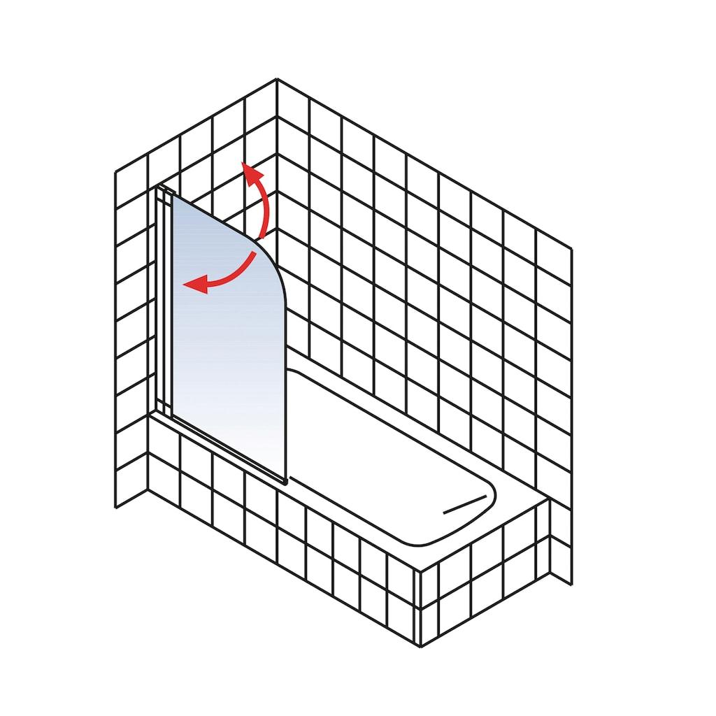Schulte Badewannenaufsatz »Liane«, mit Sichtschutz
