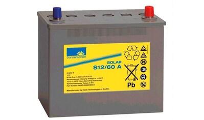 SUNSET Solar - Gel - Batterie 60 Ah kaufen