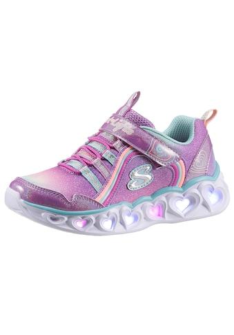 Skechers Kids Sneaker »Blinkschuh HEART LIGHTS RAINBOW LUX«, mit Blinkfunktion zum... kaufen