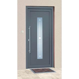 Roro Aluminium-Haustür »Andorra« BxH: 100x200 cm anthrazit auf Raten | BAUR