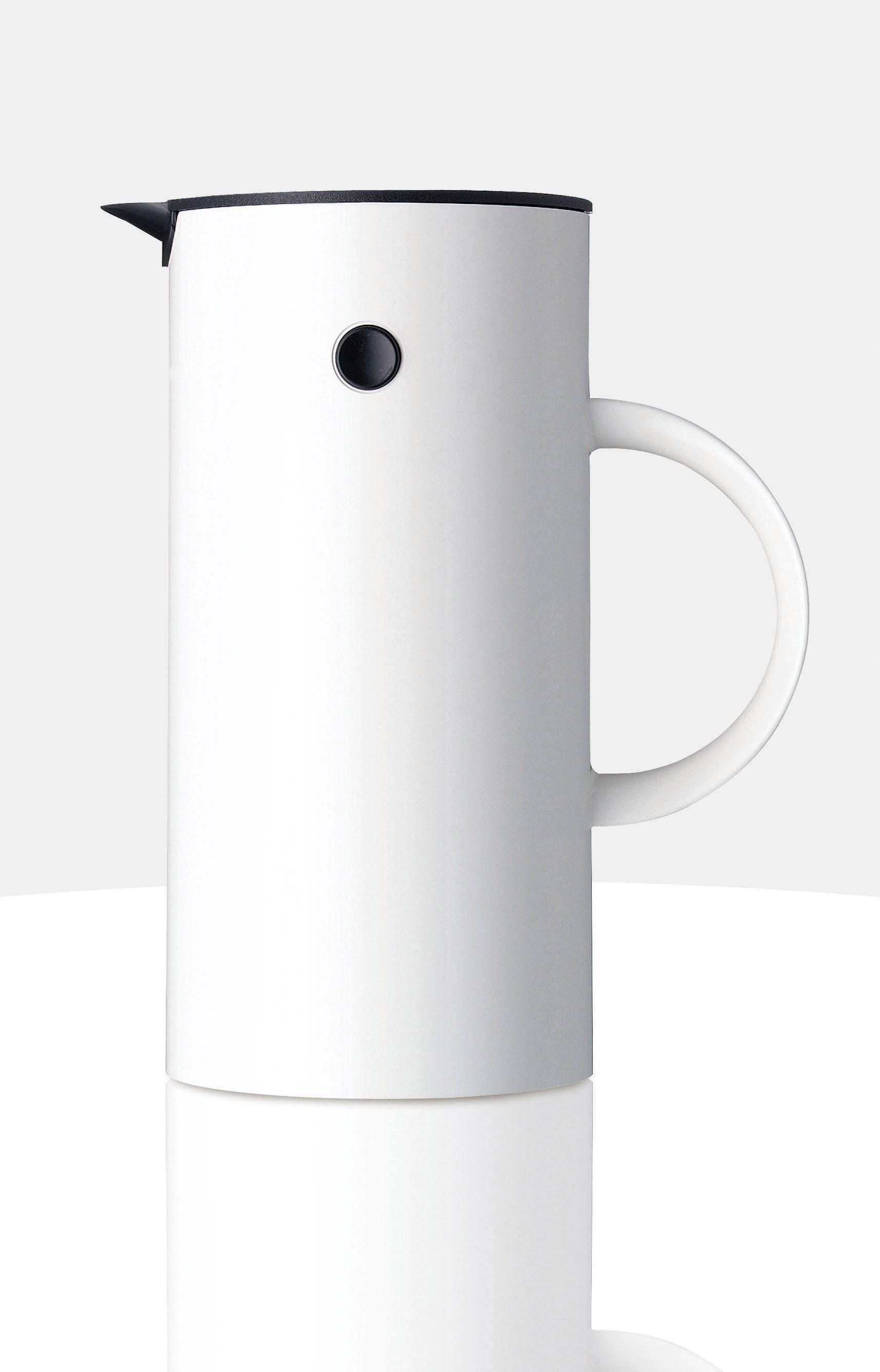 Stelton Isolierkanne EM 77, 0,5 l weiß Kannen Geschirr, Porzellan Tischaccessoires Haushaltswaren