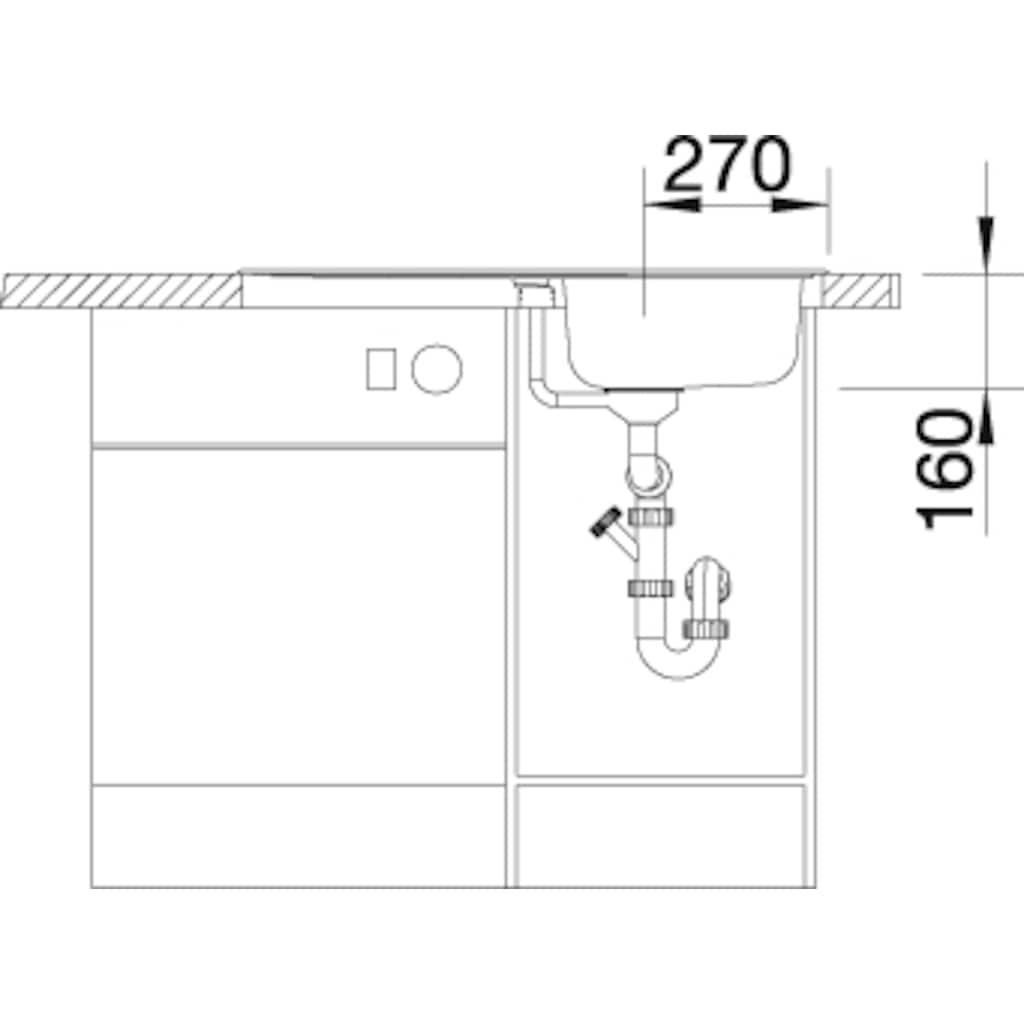 Blanco Küchenspüle »LANTOS 45 S«