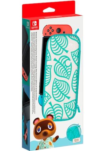 Nintendo Switch Spielekonsolen - Tasche »Animal Crossing Edition + Schutzfolie« kaufen