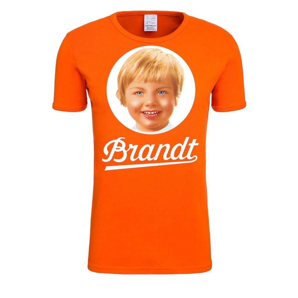 LOGOSHIRT T-Shirt, mit Brandt-Print