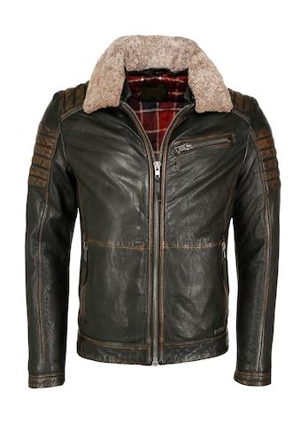MUSTANG Lederjacke »31020235« kaufen