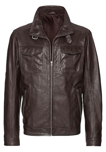 Marco Donati Leder - Jacke mit viel Stauraum kaufen