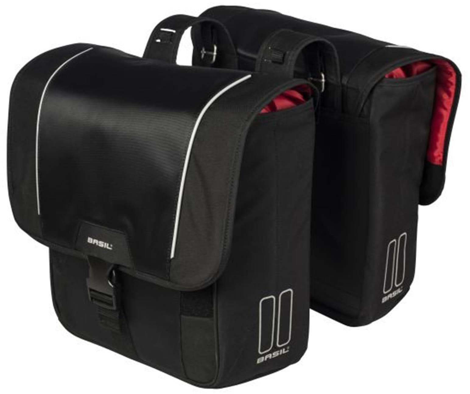 Basil Gepäckträgertasche Sport Design Technik & Freizeit/Sport & Freizeit/Fahrräder & Zubehör/Fahrradzubehör/Fahrradtaschen/Gepäckträgertaschen