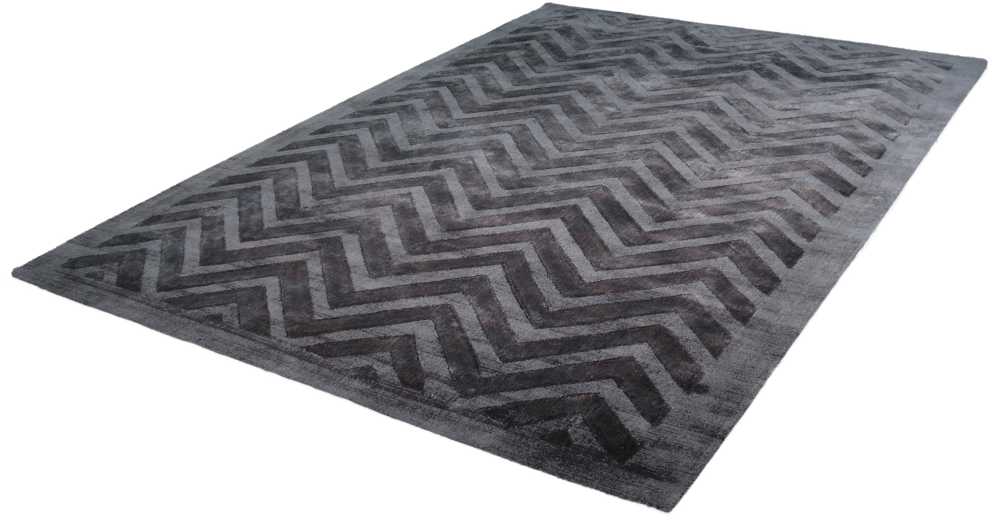 Teppich Viteox 410 calo-deluxe rechteckig Höhe 13 mm handgewebt