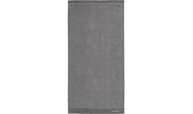Essenza Handtücher »Connect Organic Lines«, (2 St.), Ton-in-Ton Bordüre mit gesticktem Markenlogo kaufen