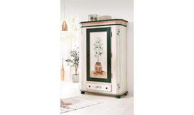Premium collection by Home affaire Garderobenschrank »Olive«, mit schönen Ornamenten und einem besonderen handgemalten Olivenbaum auf der Türfront kaufen
